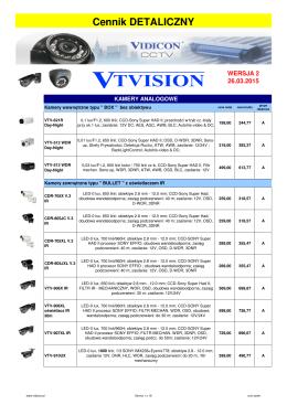 CENNIK 2A-2015 CCTV i SSWiN VIDICON
