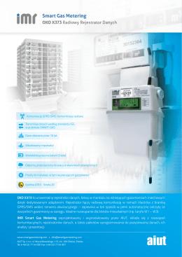 OKO X373 - Rejestrator Danych GPRS z