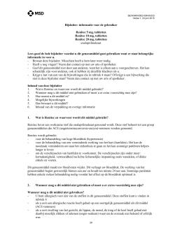 Bijsluiter - College ter Beoordeling van Geneesmiddelen