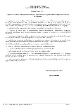 Uchwała Nr VI.31.15