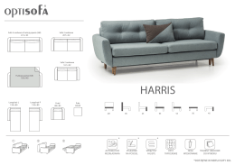 HARRIS - OPTISOFA