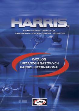 Osprzęt gazowy Harris (PDF – 4.4MB)