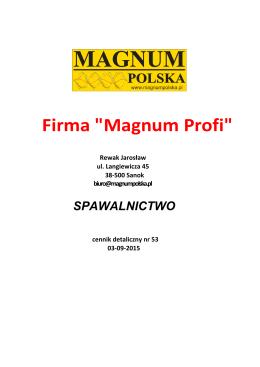 Zobacz - Magnum Polska