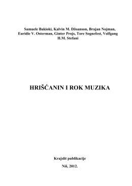 Hriscanin i rok muzika - Adventistička Crkva Knjaževac