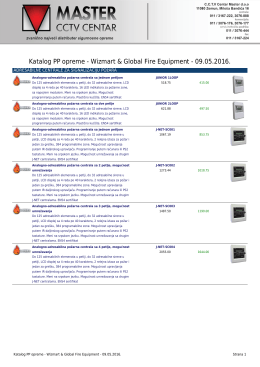 Katalog PP opreme - Wizmart & Global Fire Equipment