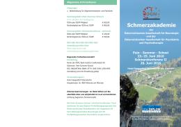 Programm - ÖGN – Österreichische Gesellschaft für Neurologie