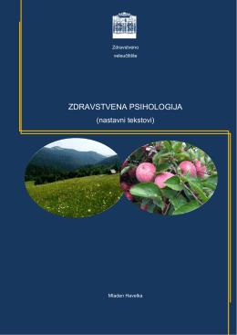 zdravstvena psihologija - Visoka medicinska škola Prijedor