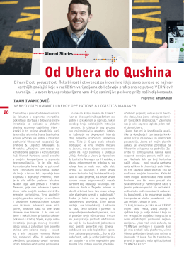 Od Ubera do Qushina