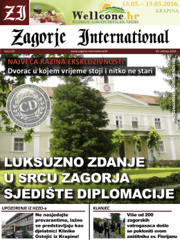 luksuzno zdanje u srcu zagorja sjedište diplomacije