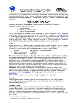 FSB KARTING KUP