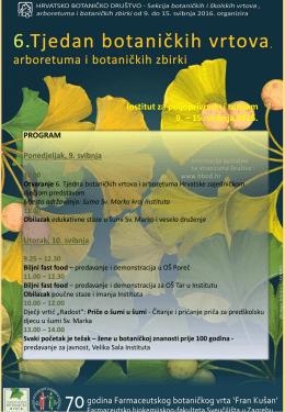 Program Tjedna 2016