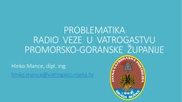 PROBLEMATIKA RADIO VEZE