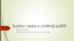 Sustav veza u civilnoj zaštiti
