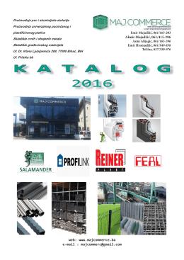 katalog 2016 - MAJ COMMERCE doo Bihać