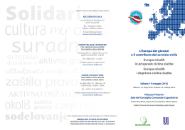cooperazione - Forum Terzo Settore