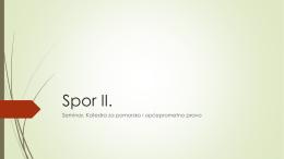 Spor II