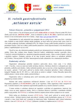BEŤÁRSKY KOTLÍK - ipa