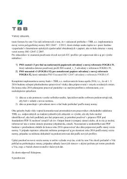 Nová ISO norma 12647-2:2013