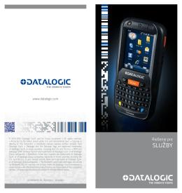 služby - Datalogic