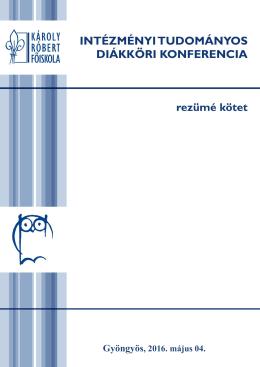 KÁROLY RÓBERT FŐISKOLA