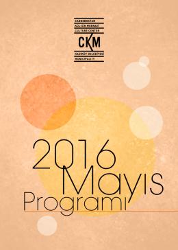 CKM Mayıs Programı 2016