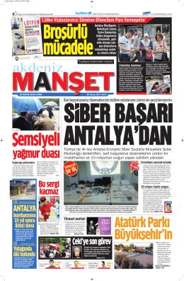 yağmur duası - Antalya Haber - Haberler