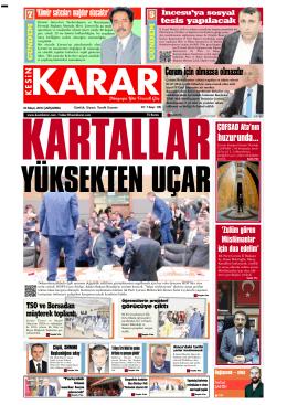 04 Mayıs 2016 - Kesin Karar Gazetesi