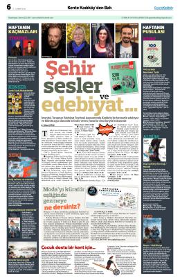 ne dersiniz? - Gazete Kadıköy