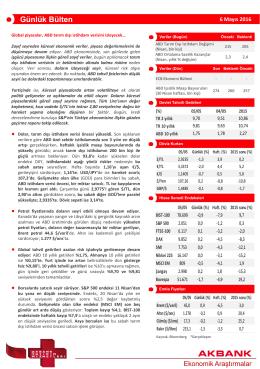 Detaylı Bilgi - Akbank Yatırımcı