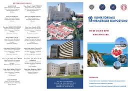 düzenleme kurulu - Ankara Üniversitesi