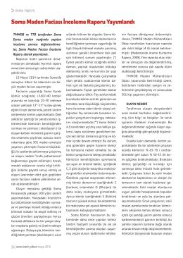 Soma Maden Faciası İnceleme Raporu Yayımlandı