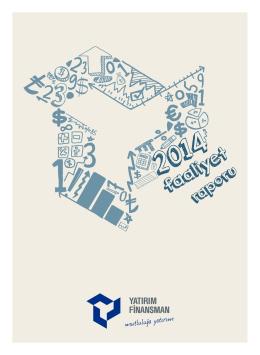 2014 Faaliyet Raporu - Yatırım Finansman Menkul Değerler
