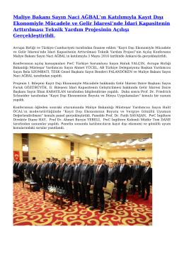 Generate PDF - Gelir İdaresi Başkanlığı