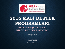 2016 - Oran