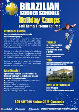 Holiday Camps - Brazilian Soccer Schools Türkiye