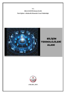 bilişim teknolojileri alanı - Özel Eğitim ve Rehberlik Hizmetleri Genel