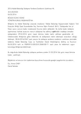 PDF - Türk Eczacıları Birliği