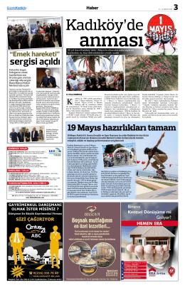 sergisi açıldı - Gazete Kadıköy