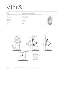 Tanım Arkitekt Ankastre Fotoselli Pisuvar Kod 4106B003