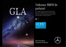 GLA Model Mayıs Ayı Kampanyası - Mercedes