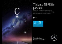 C-Serisi Mayıs Ayı Kampanyası - Mercedes