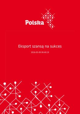 Eksport szansą na sukces - Portal Promocji Eksportu