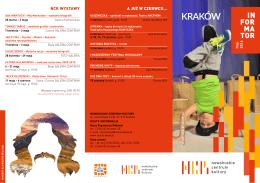 Informator Maj 2016 - Nowohuckie Centrum Kultury