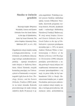 Wydrukuj tekst - Filozofia w nauce