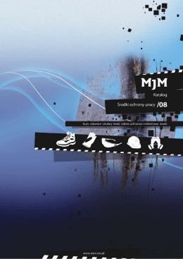 Katalog MJM środki ochrony pracy.cdr