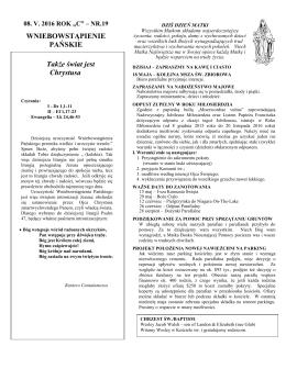 Parish Bulletin.19