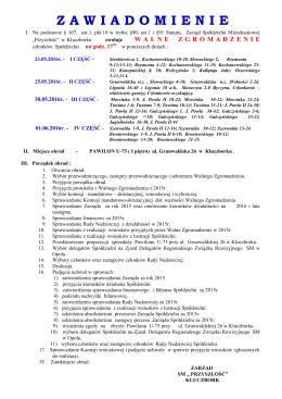 Zobacz pdf - SM Przyszłość Kluczbork