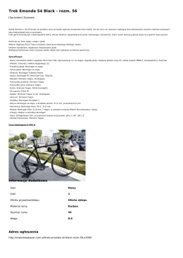 Trek Emonda S4 Black