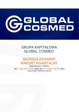 GRUPA KAPITALOWA GLOBAL COSMED