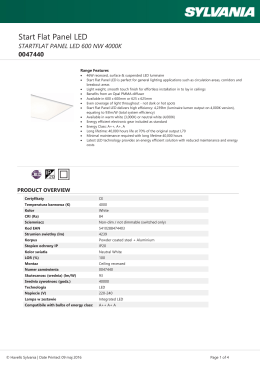 STARTFLAT PANEL LED 600 NW 4000K